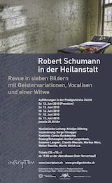 Plakat Schumann Heilanstalt