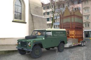 Conacher Orgelprojekt Prediger ZH